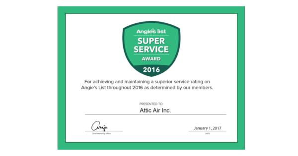 Super Service Award 2016 Image