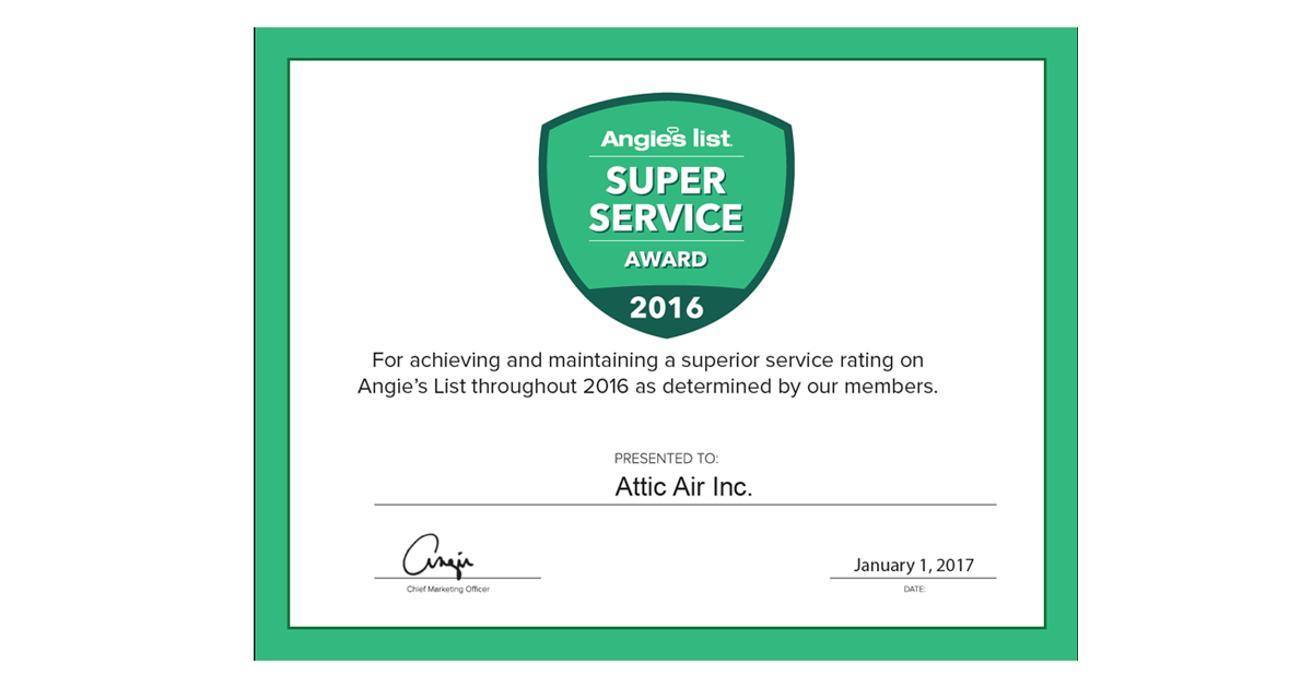 Super Service Award 2016 Image