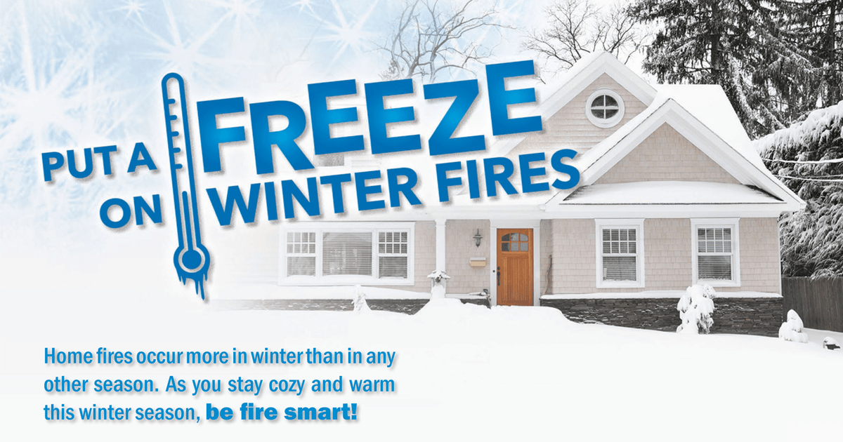 Winter Fire Safety Image