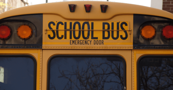 back to school - bus image