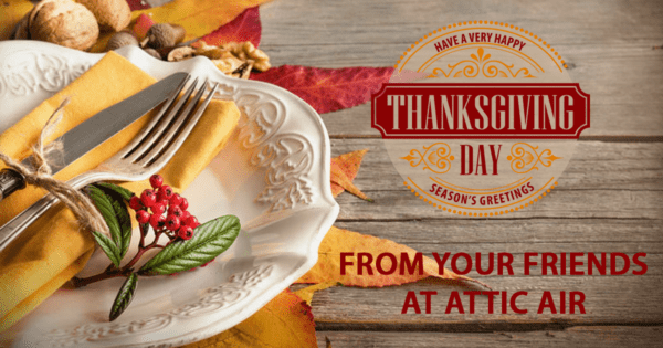 thanksgiving greeting from Attic Air