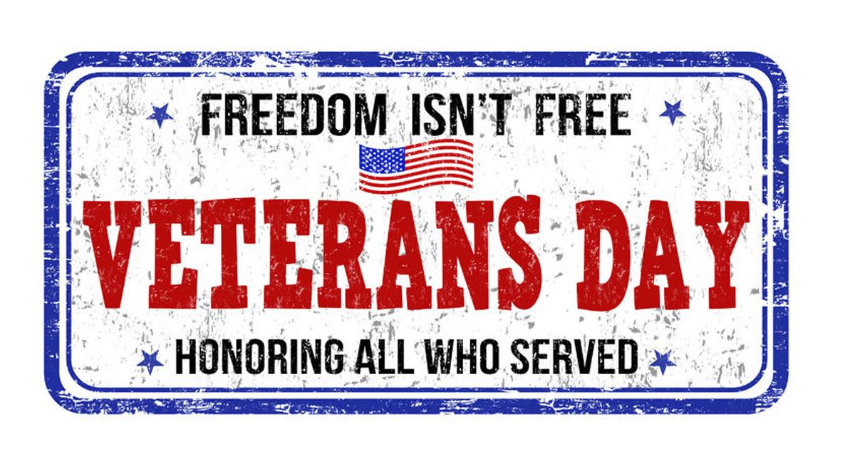 Veteran's Day 2018 Image