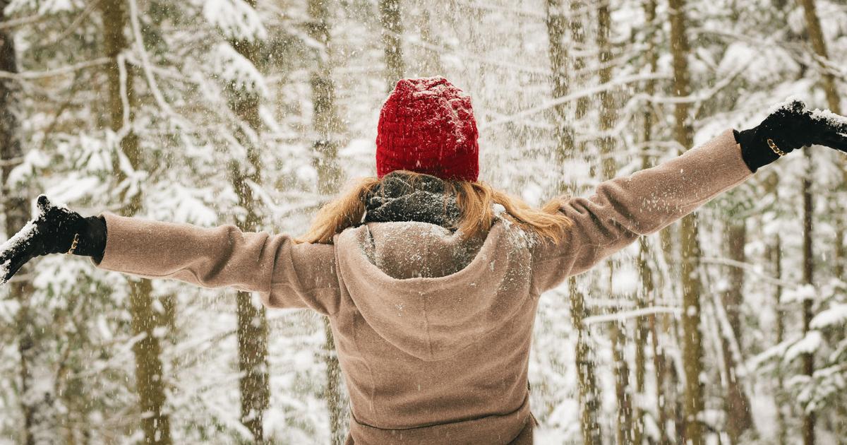 Girl in Winter Image
