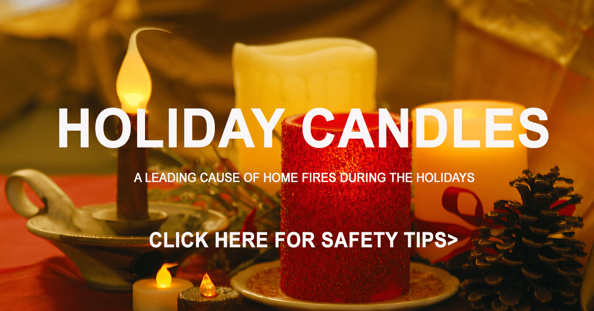 Holiday Candle Safety Tips Image