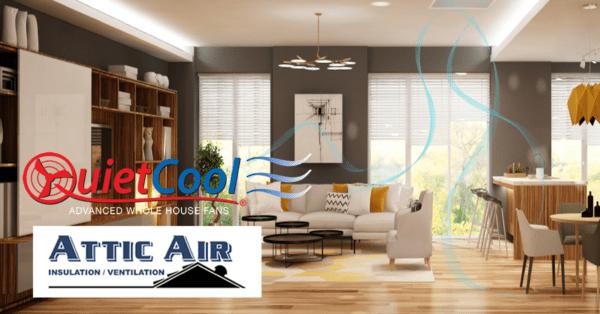 Quietcool & Attic Air Advertisement Image
