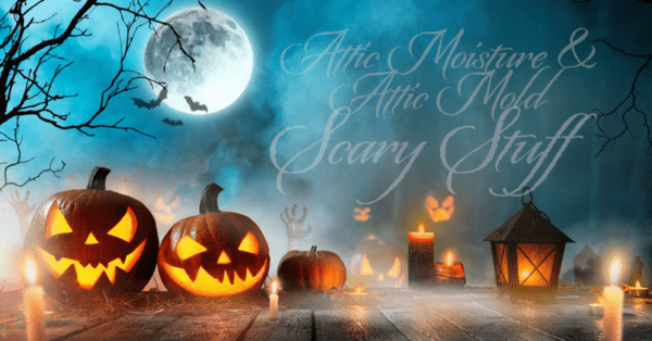 attic moisture and mold halloween image
