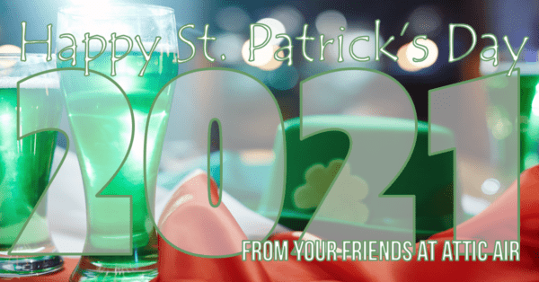 Holiday Greeting St. Pat's 2021